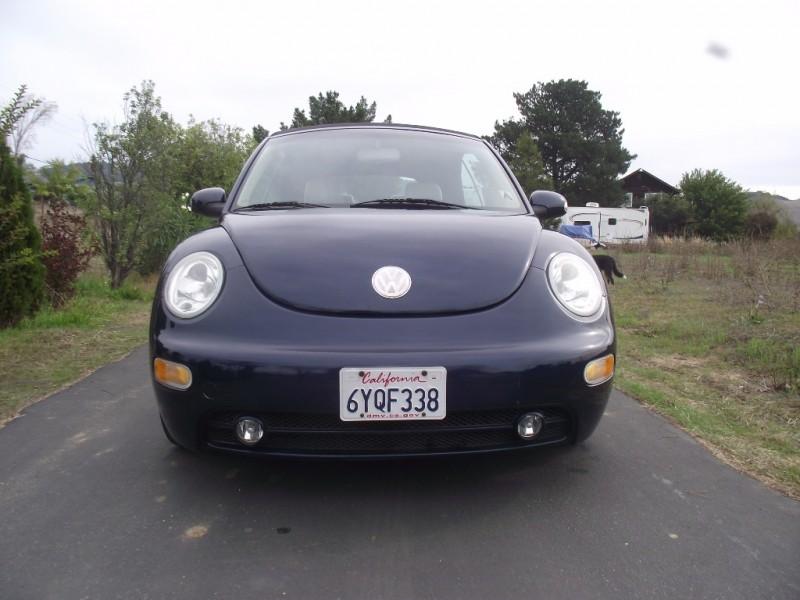 2004 Volkswagen New Beetle Convertible 2dr Convertible GLS Manual 102600 miles Stock 302445