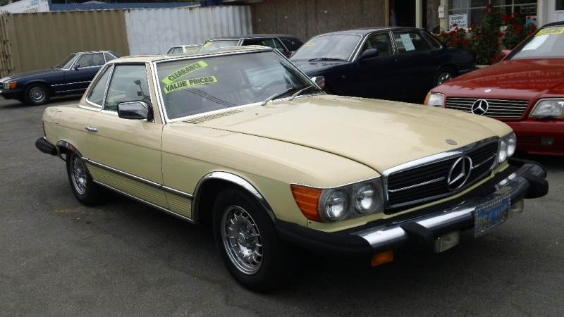 1978 Mercedes SL-Class 450 105000 miles Stock 044569 VIN WDB10704412044569