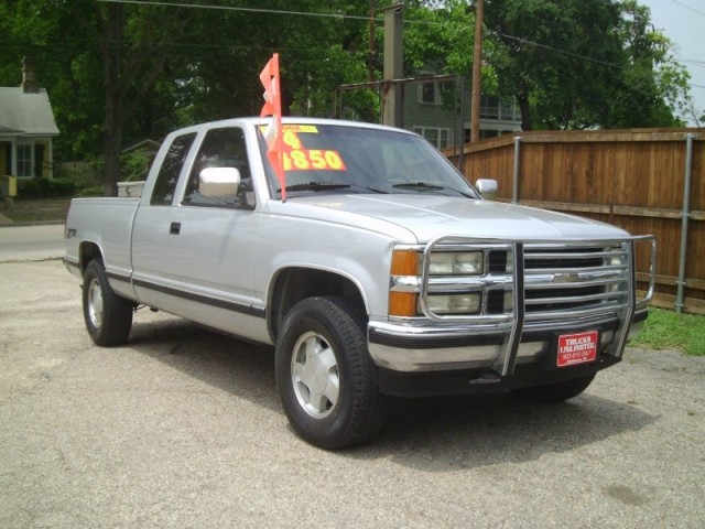94 Gmc Sierra Extended Cab Pickup Truck With Clean Plow Autos Post
