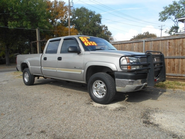 2003 chevrolet 2500hd crew cab lwb inventory trucks unlimited auto dealership in corsicana. Black Bedroom Furniture Sets. Home Design Ideas