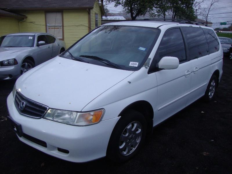 2002 Honda Odyssey Ex White Inventory Regio Motors