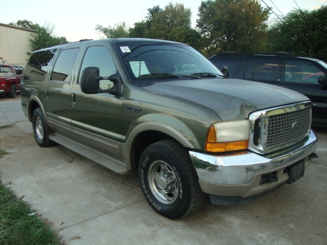 2000 Ford Excursion Limited Green V10 Inventory Regio