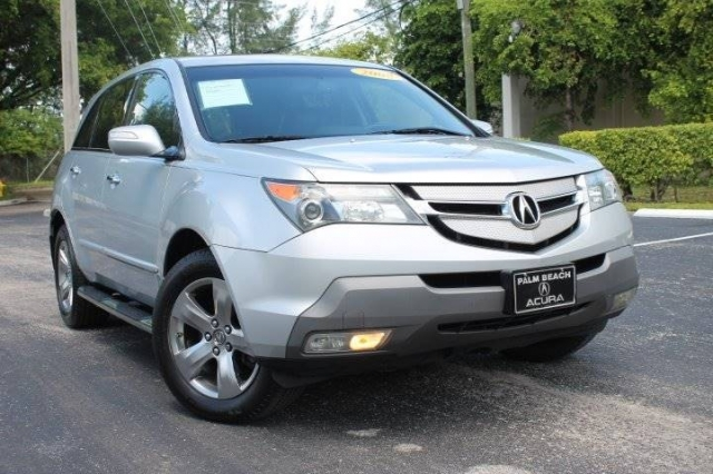 2008 Acura MDX SH-AWD w/Sport w/RES 4dr SUV and Entertainment Pac - $9,999 (Hallandale, FL ...