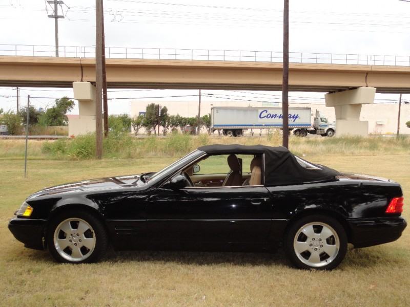 1998 mercedes benz sl 500 black 1998 mercedes benz sl500 for Mercedes benz for sale in dallas tx