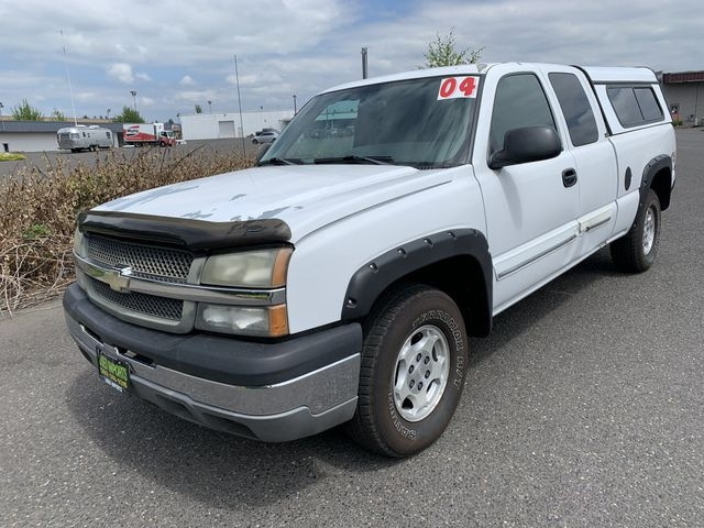 2004 chevrolet silverado 1500 extended cab work truck pickup 4d 6 1 2 ft cars - vancouver, wa at geebo