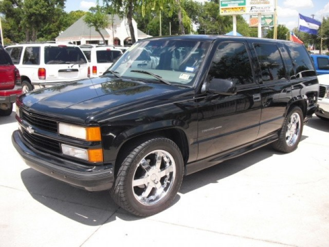 2000 chevy tahoe ss limited for sale in autos weblog. Black Bedroom Furniture Sets. Home Design Ideas