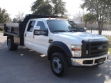 Ford Super Duty F550 Dump Truck Diesel 2008