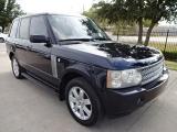 Land Rover Range Rover HSE Navigation TV/DVD Loaded 2007