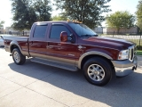Ford F250 King Ranch Diesel 2WD 2007