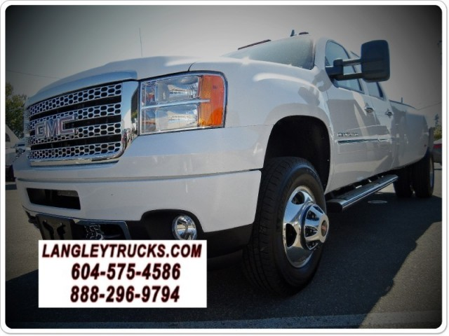 2013 GMC NEW Sierra 3500HD DENALI DUALLY LOADED 4X4 DIESEL