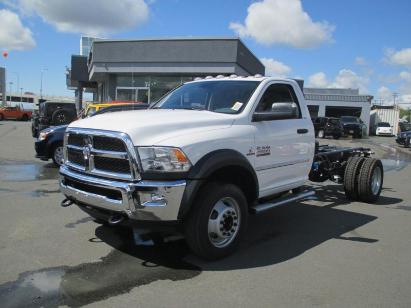 RAM 4500 HD Chassis 2015