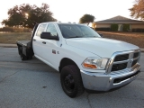 Dodge RAM 3500 4X4 FLAT BED 2011