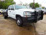 Chevrolet Silverado 3500  EXTENDED CAB DUALLY FLAT BED 2005