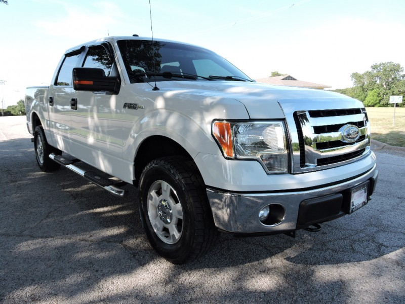 Ford F-150 SuperCrew 4WD XLT 2012