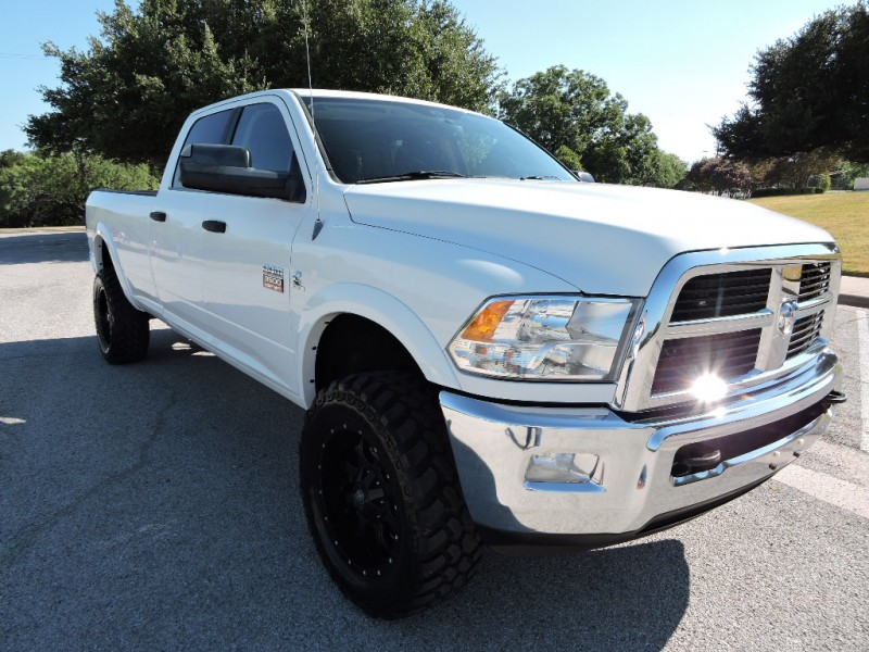 Dodge Ram 3500 Big Horn 4x4 Lifted 2012