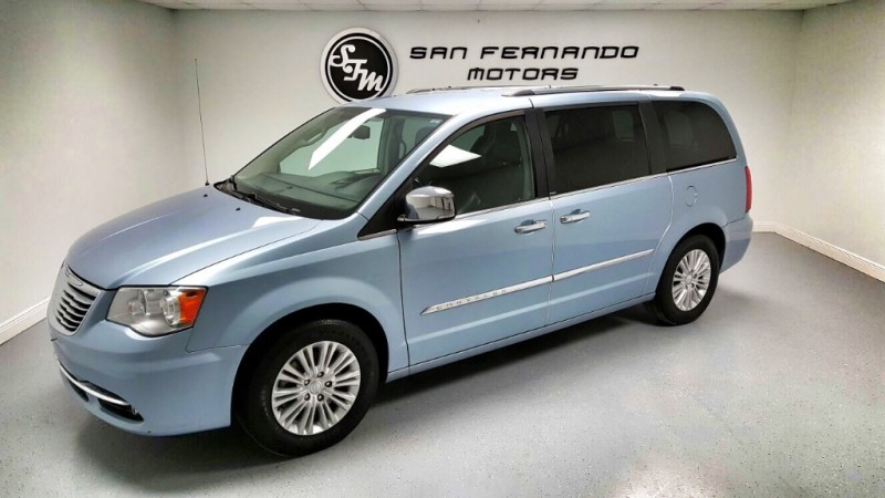 2013 chrysler town country 4dr wgn limited san