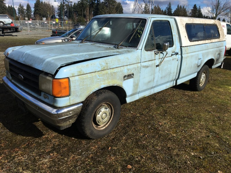 1987 ford f 150 flareside 117 wb blue 1987 ford f 150 car for sale in pacific wa 4478257784. Black Bedroom Furniture Sets. Home Design Ideas