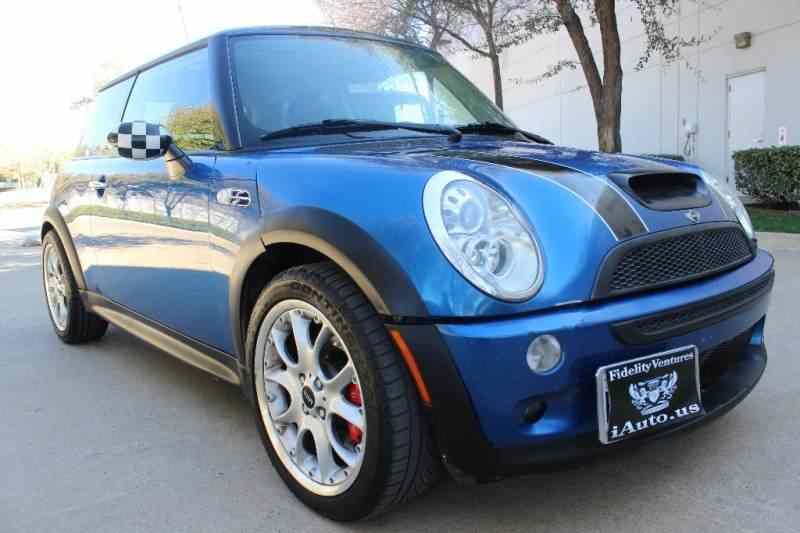2006 mini cooper s turbo blue 2006 mini car for sale in dallas tx 4140927751 used cars on. Black Bedroom Furniture Sets. Home Design Ideas