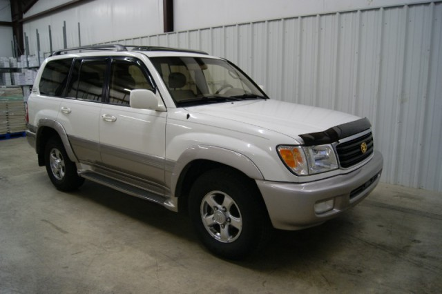 find used 2002 toyota land cruiser w nav roof 3rows clean no res in joplin missouri united states. Black Bedroom Furniture Sets. Home Design Ideas