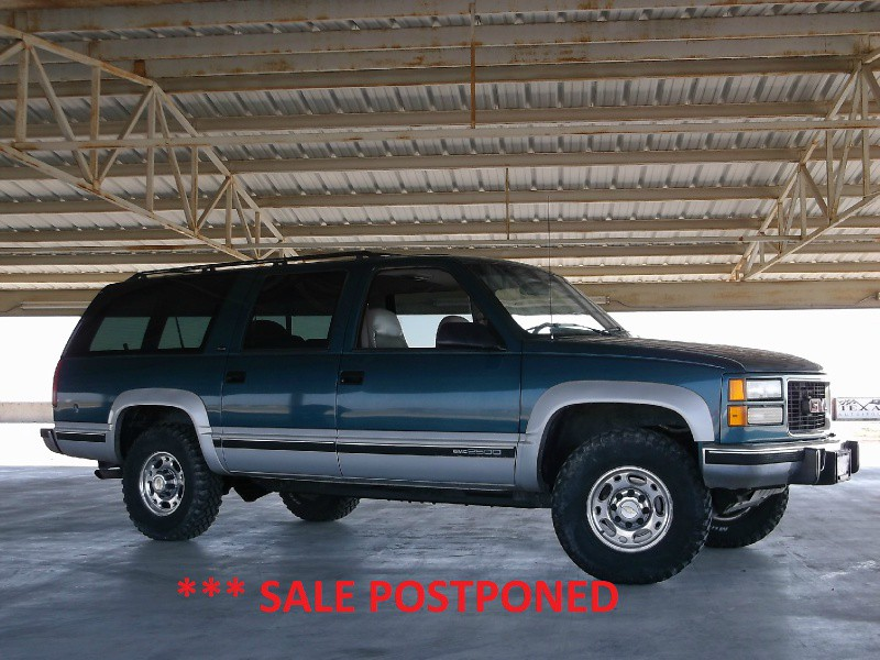 1994 Gmc Suburban 2500 4wd Turbo Diesel Inventory