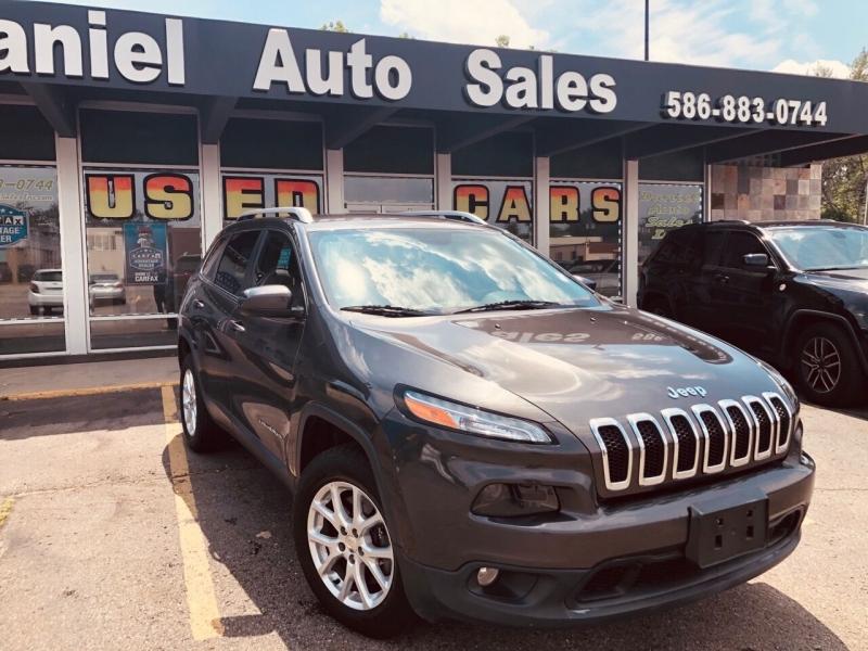 2014 jeep cherokee latitude 4x4 4dr suv cars - clinton township, mi at geebo
