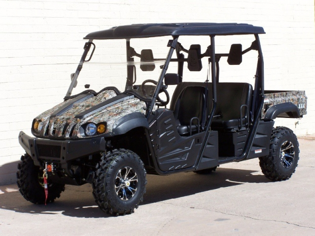 2014 Hisun 5 Seater 4x4 Side By Side Crew Utv Lowest