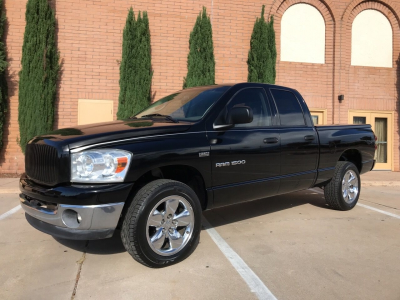 2007 dodge ram pickup 1500 slt 4dr quad cab 4wd sb cars - sierra vista, az at geebo