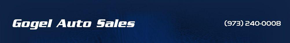 Gogel Auto Sales. (973) 240-0008