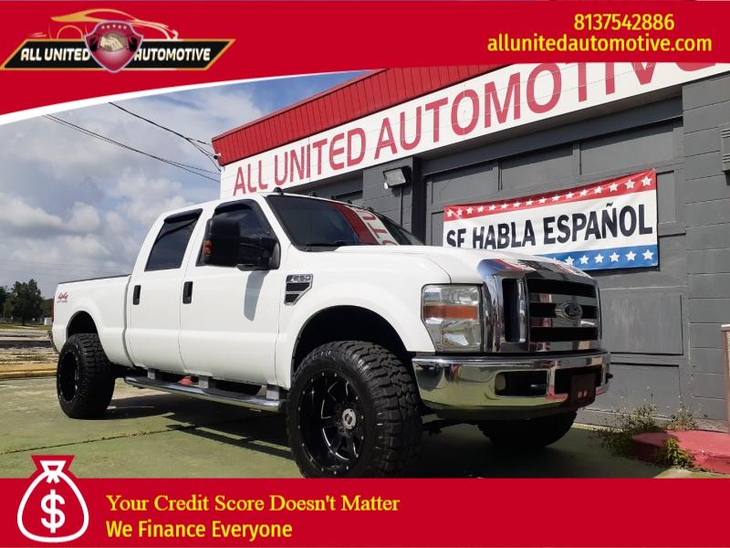 2008 ford super duty f-250 srw 4wd crew cab 156 xl cars - plant city, fl at geebo