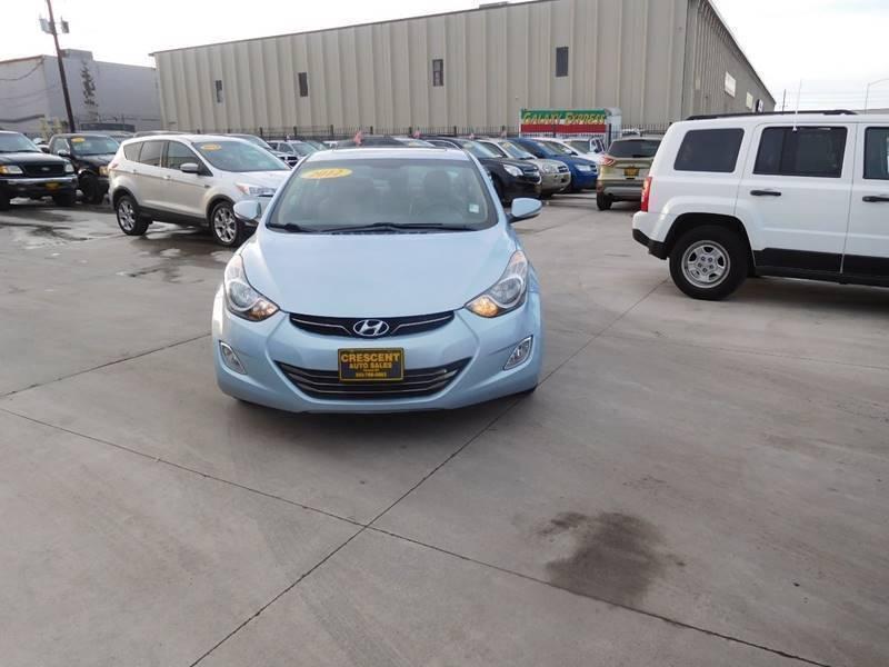 2012 hyundai elantra limited 4dr sedan cars - denver, co at geebo
