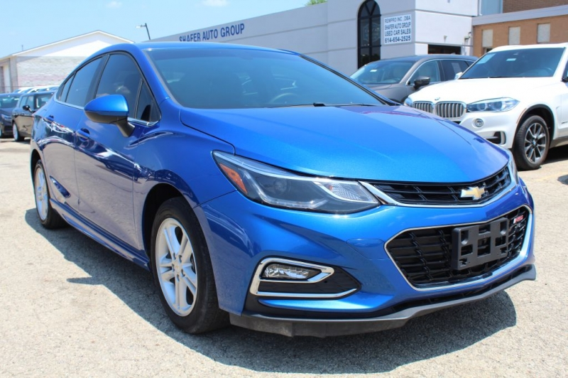 2018 chevrolet cruze lt rs cars - columbus, oh at geebo