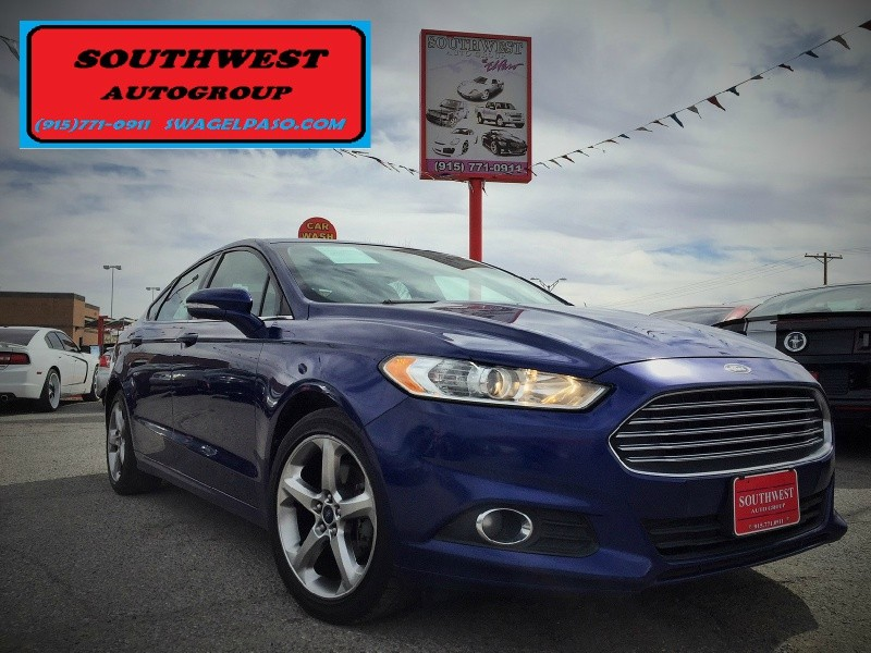 2013 ford fusion for sale in el paso tx cargurus. Black Bedroom Furniture Sets. Home Design Ideas