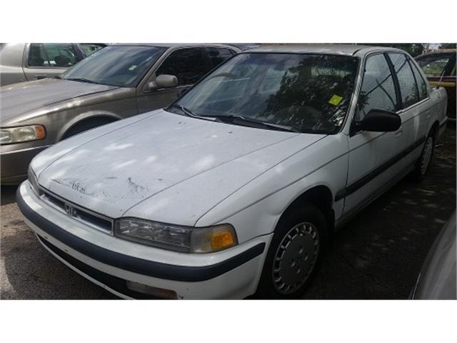 1990 honda accord lx sedan white 1990 honda accord lx for Hi tech motors tulsa ok