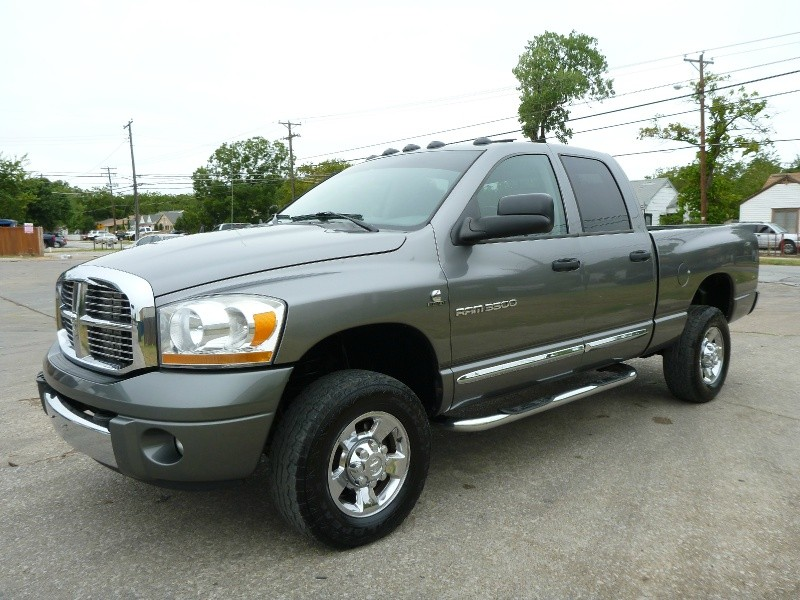 Purchase used Dodge Ram 3500 Quad Cab 6spd MANUAL 5.9 DIESEL 4x4 ...