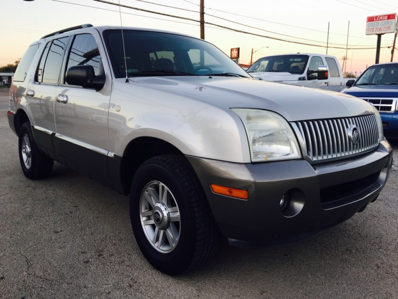 used mercury mountaineer for sale dallas tx cargurus. Black Bedroom Furniture Sets. Home Design Ideas