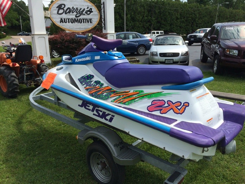 Kawasaki Zxi Jet Ski Value