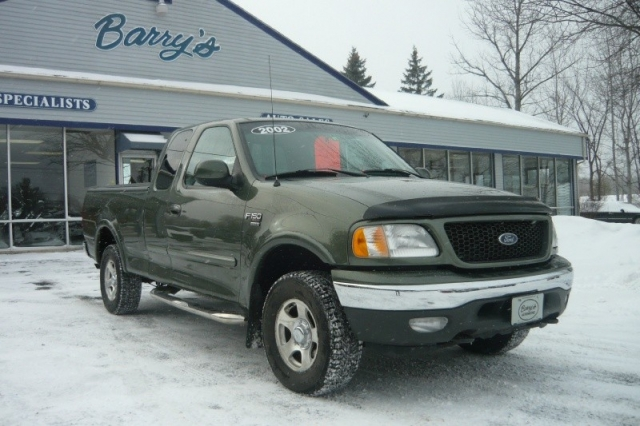 2002 ford f 150 supercab 139 xl 4wd inventory barrys automotive auto dealership in south. Black Bedroom Furniture Sets. Home Design Ideas