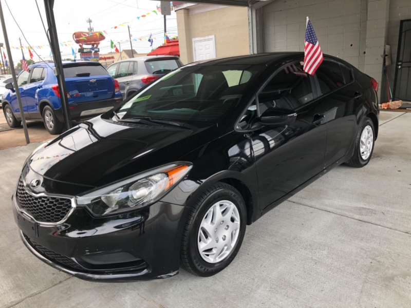 2016 kia forte 4dr sdn auto lx 2000 down cars - houston, tx at geebo