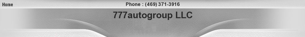 777autogroup LLC. (469) 371-3916