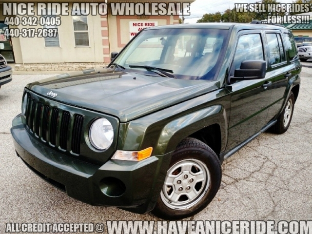 2008 jeep patriot 4wd sport leather 97k nice suv ride. Black Bedroom Furniture Sets. Home Design Ideas