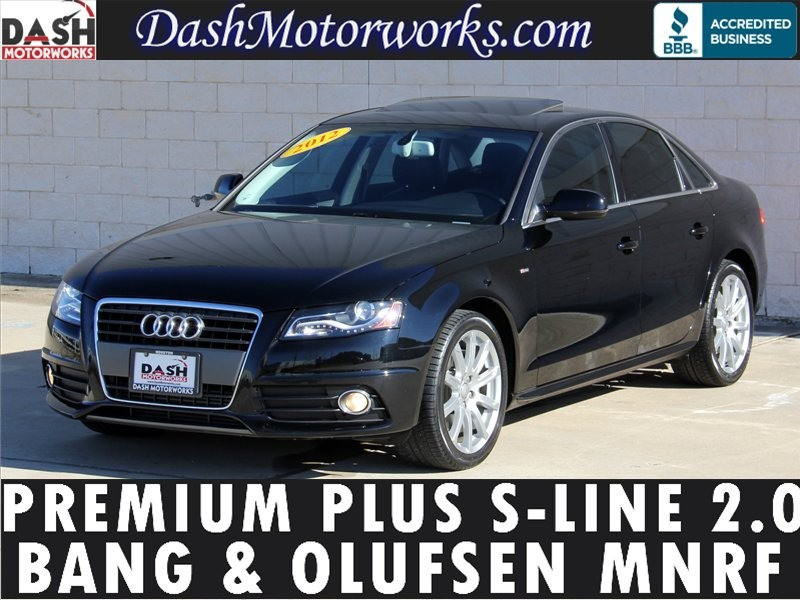 2012 audi a4 2 0t premium plus for sale cargurus. Black Bedroom Furniture Sets. Home Design Ideas