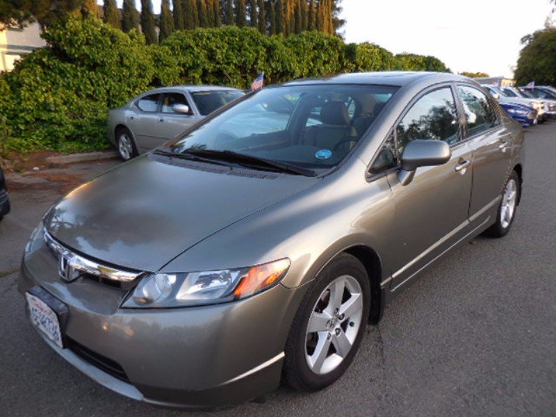 2008 Honda Civic EX-L EX-LHEATED LEATHER SEAT WITH MOONROOF ALLOY WHEELS CLEAN TITLE LOOKS RU