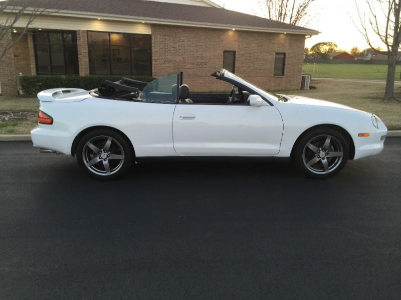 1999 toyota celica gt convertible white 5 speed manual. Black Bedroom Furniture Sets. Home Design Ideas