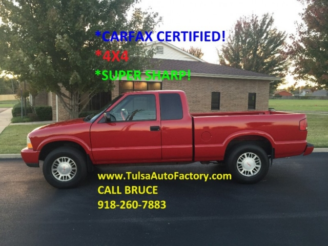2001 gmc sonoma sls extended cab red auto 4wd carfax certified 4x4 super sharp auto. Black Bedroom Furniture Sets. Home Design Ideas