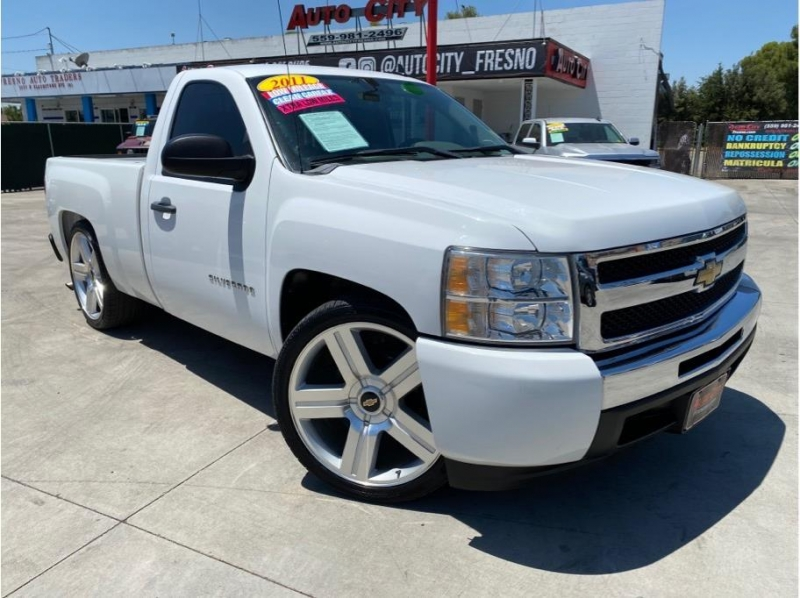 2011 chevrolet silverado 1500 regular cab work truck pickup 2d 6 1 2 ft cars - fresno, ca at geebo