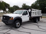 Ford Super Duty F-450 DRW 12' Stake Bed 2006