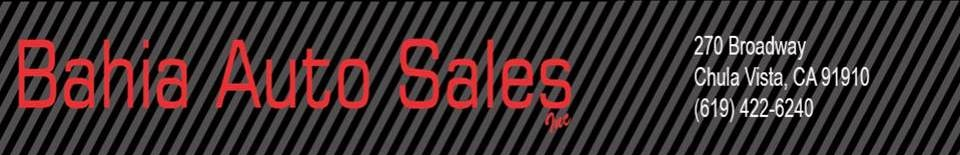 Bahia Auto Sales. (619) 422-6240