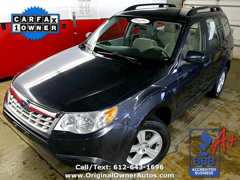 2011 subaru forester 2 5 x for sale in rochester mn cargurus. Black Bedroom Furniture Sets. Home Design Ideas