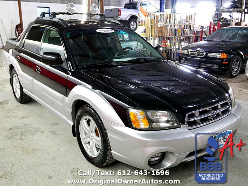 2003 subaru baja sport manual sunroof tons of new parts. Black Bedroom Furniture Sets. Home Design Ideas