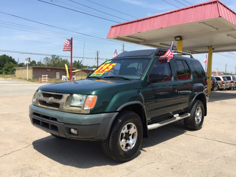 2001 nissan xterra 4dr xe 2wd v6 auto inventory auto 4 less auto dealership in pasadena texas. Black Bedroom Furniture Sets. Home Design Ideas